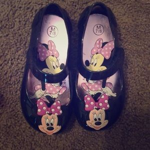 Brand new never worn Minnie Mouse shoes